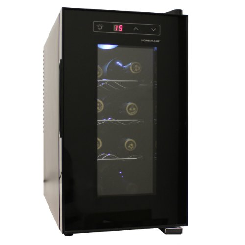 HOMEIMAGE 8 Bottle Thermal Electric Wine Cooler - HI-8C