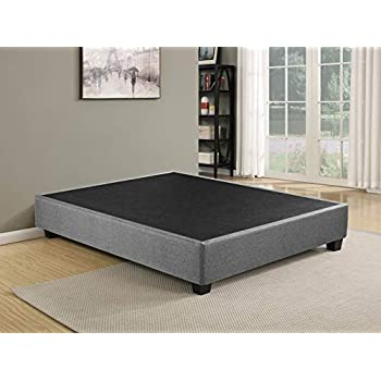 amazoncom south shore step one platform bed with molding