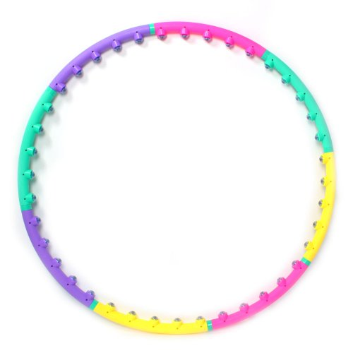 Cosway PVC Large Hula Hoop Magnetic Therapy Message for Gym Kids Adults Youth