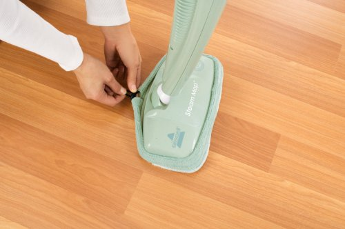 Bissell Steam Mop Hard-Floor Cleaner, Green Tea, 1867-7