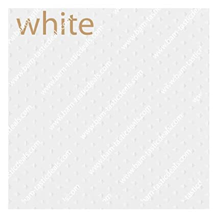 White Fabric Double Swag Shower Curtain With Matching Window And Vinyl Liner