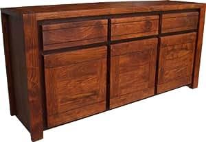 Guru-Shop Dresser Aparador TV Gabinete Suecia R1306, 80x165x45 cm, Cómodas y Aparadores