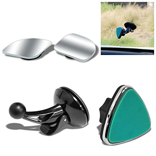 """TYA-D02 Universal Suction Cup Windshield Magnetic Adjust Angle TYA Line Car/SUV/Truck Mount Holder Stand Bracket Cradle For Smartphone Mobile Cell Phone GPS+TYCN74 2"""" x 2"""" View Blind Spot Mirrors"""
