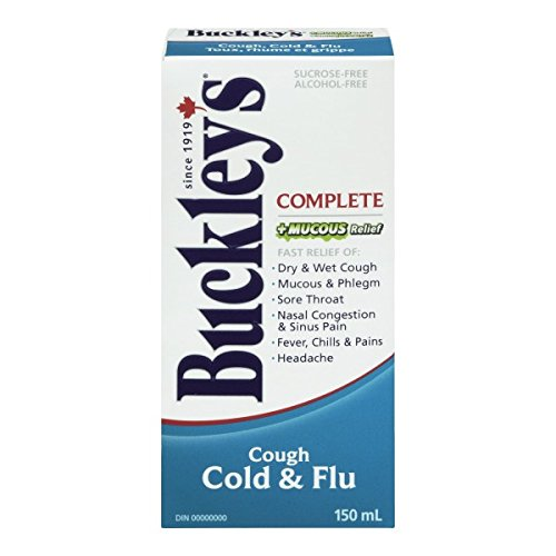Buckley's Complete 'MUCUS RELIEF' Syrup Extra Strength for relief of COUGH - 150 ml (Relief Syrup)