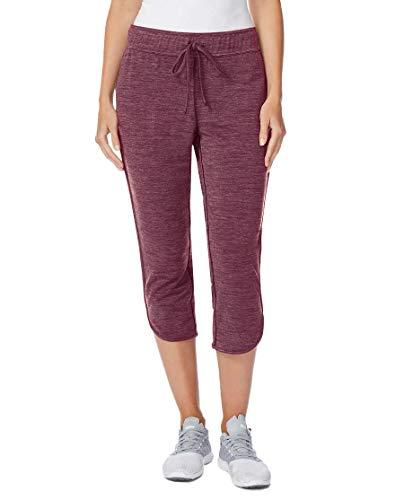 32 Degrees Ladies' Soft Fleece Knit Capri Pants (S, Heather Purple)