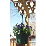 """ABC Products"" - Deck Hanging ~ Flower Plant Pot"