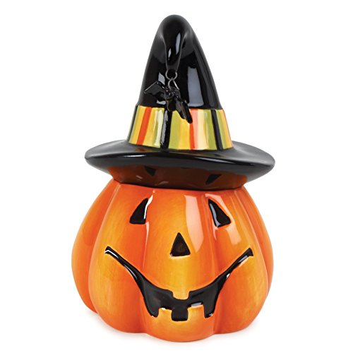 Fitz & Floyd Boo Pumpkin Lidded Box