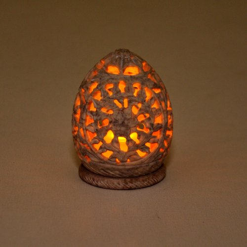 souvnear-soapstone-tealight-36-stone-tealight-candle-holder-handmade-stoneware-sculpture-for-home-de