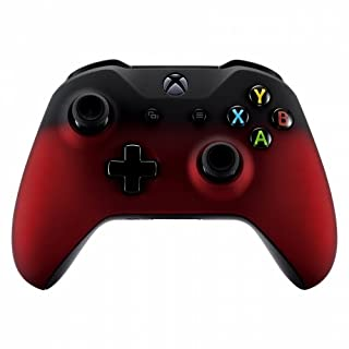 Xbox One Wireless Controller for Microsoft Xbox One - Custom Soft Touch Feel - Custom Xbox One Controller (Red & Black Fade)