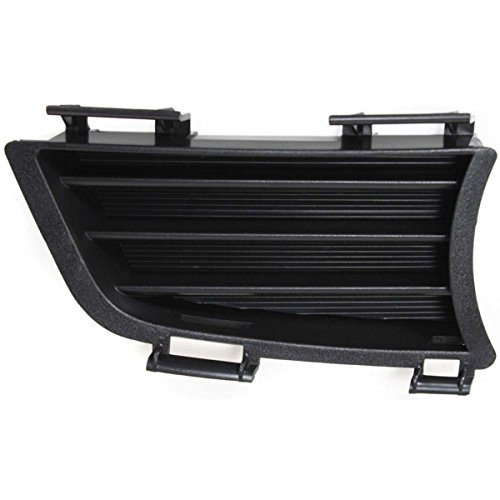 DAT 2005 - 2008 PONTIAC VIBE BLACK BUMPER GRILLE LOWER OUTER RIGHT PASSENGER SIDE (Pontiac Vibe Bumper Cover)