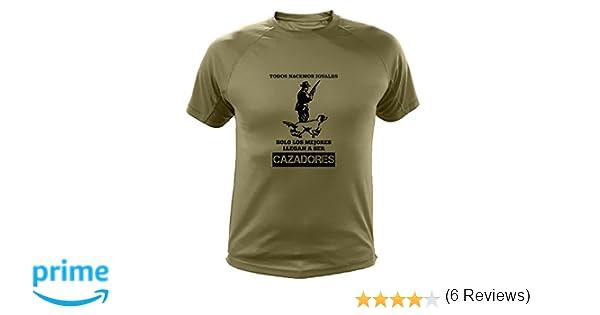 Todos nacemos Iguales Ideas Regalos Becada AtooDog Camisetas Personalizadas de Caza