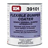 SEM 39101 Black Original Flexible Bumper Coater Aerosol - 1 Gallon