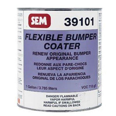 SEM 39101 Black Original Flexible Bumper Coater Aerosol - 1 Gallon by SEM (Image #1)