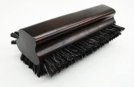 Iszy Billiards Pool Table Horsehair Brush with Oak Finish, 8.5-Inch F16205