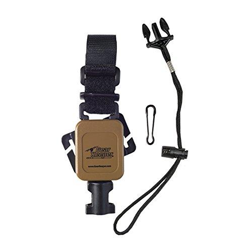 - Gear Keeper Retractor RT4-5570-C Low Force Sidearm Retracting Firearm Tether