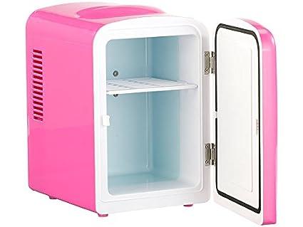 Mini Kühlschrank Für Kinder : Mini kühlschrank l mit warmhalte funktion ac dc v pink