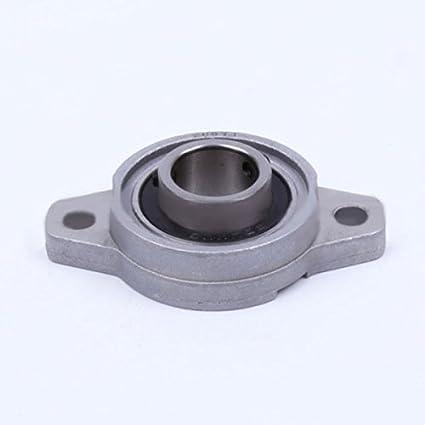 2Pcs 8mm Bore Diameter KFL08 Pillow Block Bearing Flange Rhombic Bearings New