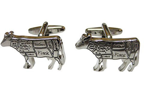 Beef Butchers Cut Cufflinks