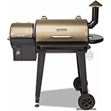 """Cuisinart CPG-4000 Wood BBQ Pellet Grill and Smoker, 45"""" x 49"""" x 39.4"""", Black"""