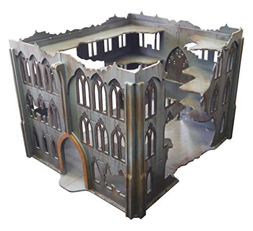 Frontline Gaming - ITC Terrain - Gothic Ruins: Cathedral - Tabletop Miniatures Wargame 28mm Scenery Terrain