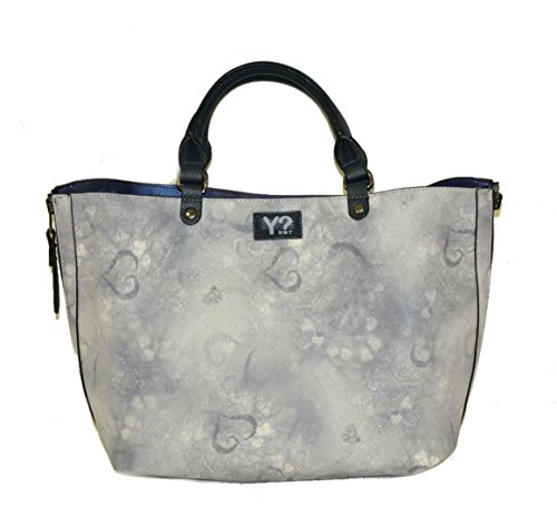 Borsa Y Not reversibile art. k 40 blu