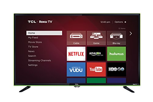 TCL 32-Inch 720p Smart LED TV 32S3850A (2015) with...