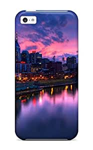Tpu Case Cover Compatible For Iphone 5c/ Hot Case/ Nashville Usa