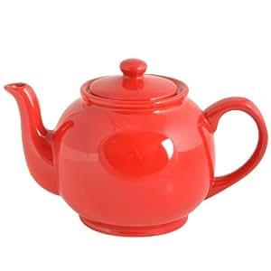Price & Kensington Brights Teapot, 37-Fluid Ounces, Bright Red