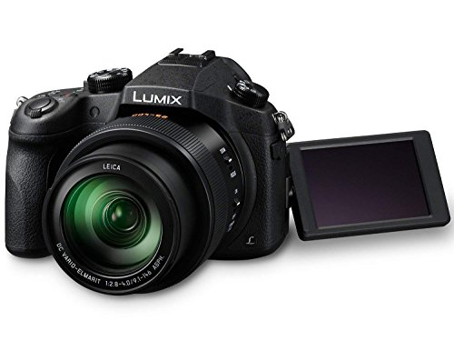 Panasonic LUMIX DMC-FZ1000 20.1MP 4K Point and Shoot Digital Camera w/16X Zoom Leica lens, Built-In Wi-Fi and NFC – Black (US Model)