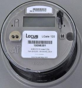 Locus Energy w/ Cell Service for Dividend Solar LGate 120-3Gy-DS