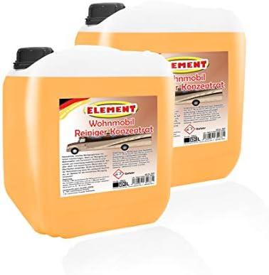 Element Caravanreiniger Konzentrat Wohnwagenreiniger Wohnmobilreiniger Wohnmobil Reiniger Planen Reiniger 10 Liter Drogerie Körperpflege