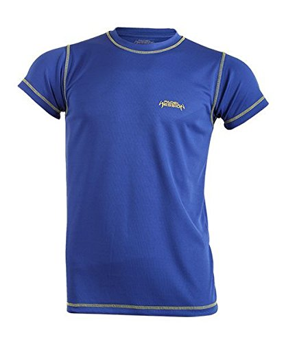 Padel Session Camiseta Tecnica Royal Amarillo: Amazon.es ...