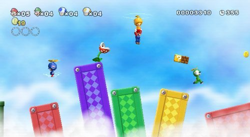 New Super Mario Bros. Wii by Nintendo (Renewed) by Nintendo (Image #3)