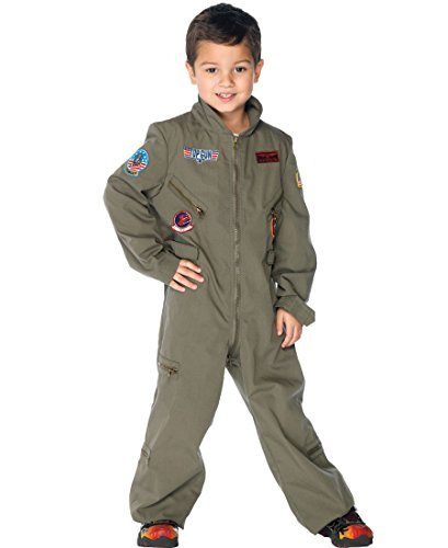Top Gun Boys Flight Suit Child Costume - Medium ()