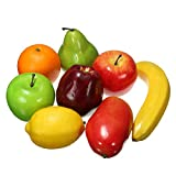 CynKen 8PCS Lifelike Artificial Plastic Fruit Kitchen Fake Display Home Food D¨¦cor