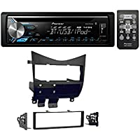 Honda Accord Radio Install Kit With PIONEER DEH-X3900BT SINGLE DIN CAR STEREO CD RECEIVER WITH BUILT-IN BLUETOOTH