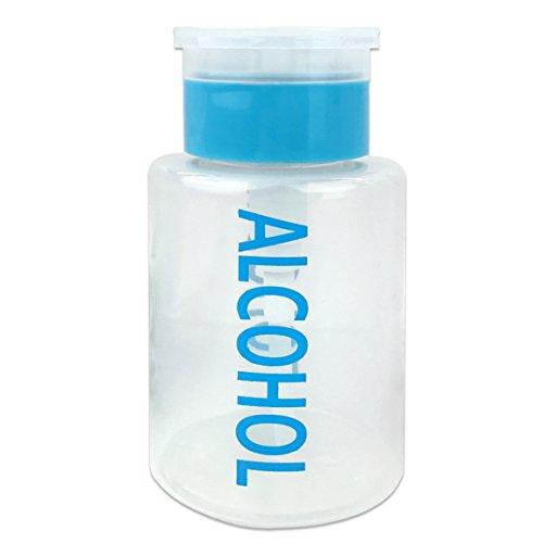 Beauticom Alcohol Dispenser Bottle Labeled