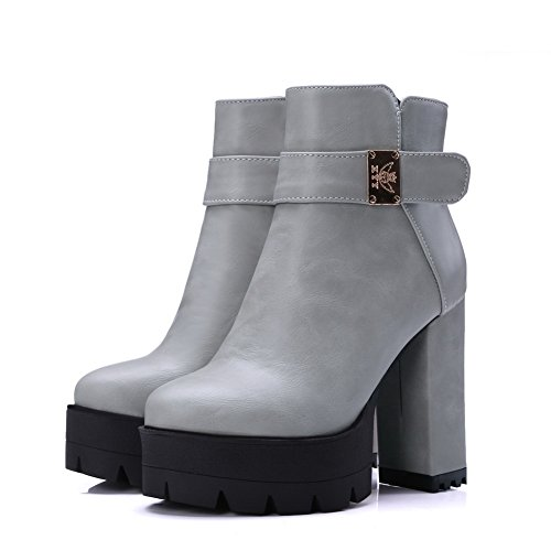 1TO9 Sandalias con Cuña Mujer gris