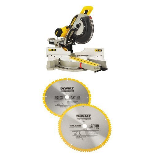 DEWALT 12-Inch Sliding Compound Miter Saw,...