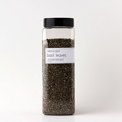 Spiceologist Premium Spices - Dried Basil - 5 oz - Packaged in Standard PC1 Bulk Container
