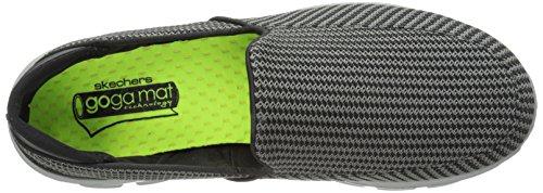 Skechers 53980 - Zapatillas de deporte para hombre Gris (Charcoal/Orange)