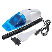 AUDEW 12V Mini Blue Car Vacuum Cleaner Portable Handheld Wet / Dry Home Office Travel