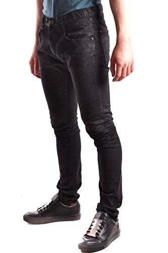Armani Jeans Herren MCBI025184O Schwarz Baumwolle Jeans
