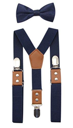 Navy Blue Suspenders - 6
