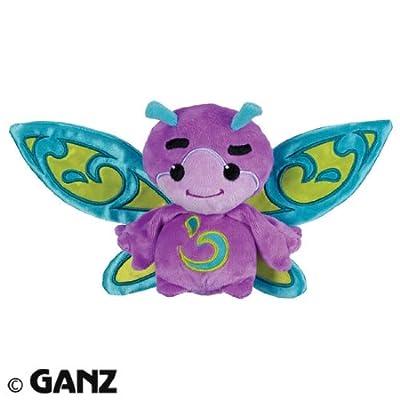 Webkinz Plush Zumbuddy Zype Purple with Blue Wings: Toys & Games