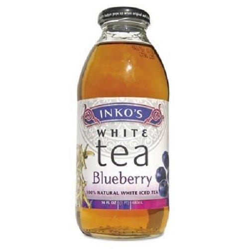 Inko's, Organic White Tea, Blueberry, 16 oz
