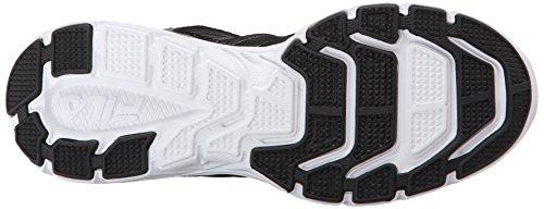Gamble Shoe Black Fila Metallic Running Black Silver Rqx8Ed