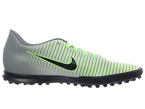 Mercurialx Nike Tf Iii Plateado Green pure Vortex ghost Black Football Chaussures De Homme Platinum dArqApTxw
