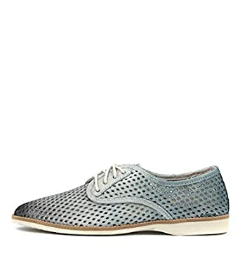 ROLLIE Derby Punch X Navy Blue Ombre Womens Shoes Flats Shoes