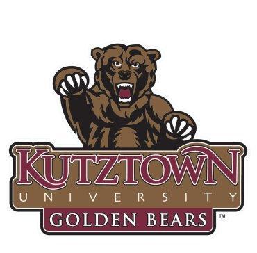 Wincraft Kutztown University Golden Bears NCAA 4x4 Die Cut Decal